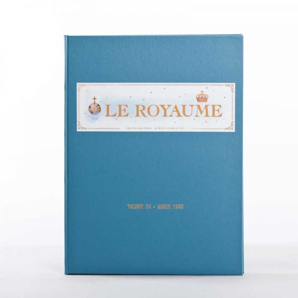 journal le royaume-reliure 24