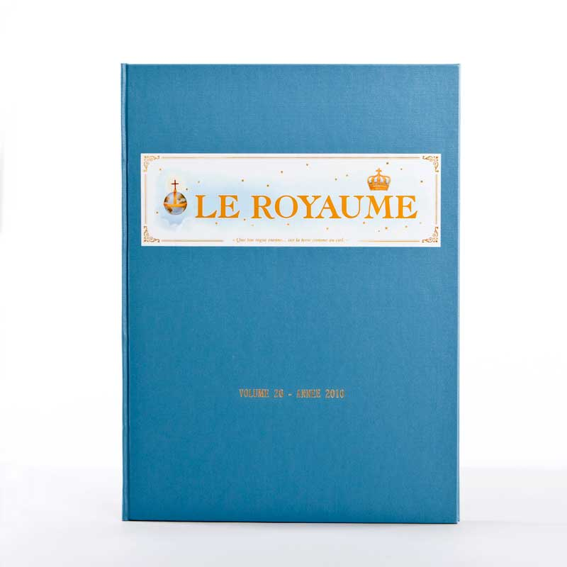 journal le royaume-reliure 26