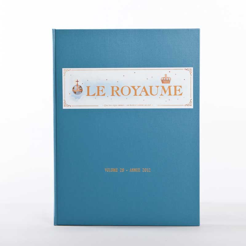 journal le royaume-reliure 28