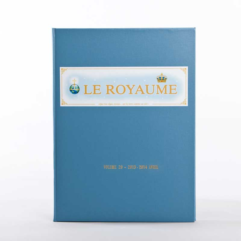 journal le royaume-reliure 29