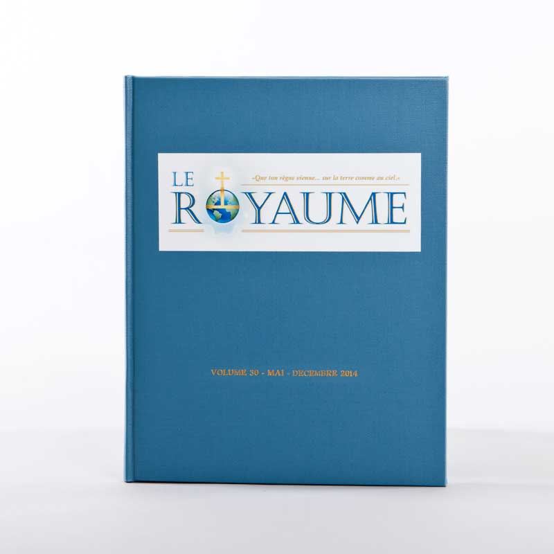 journal le royaume-reliure 30