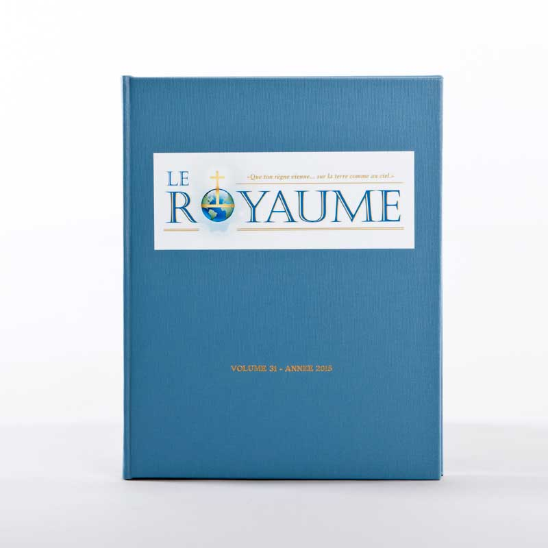 journal le royaume-reliure 31