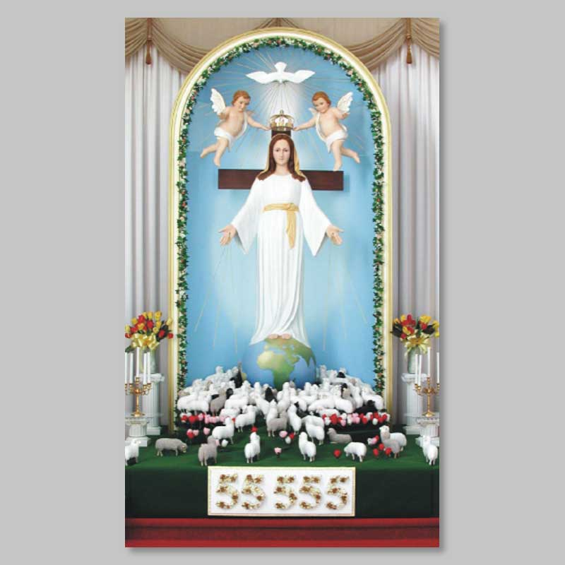 image trône marial à spiri-maria