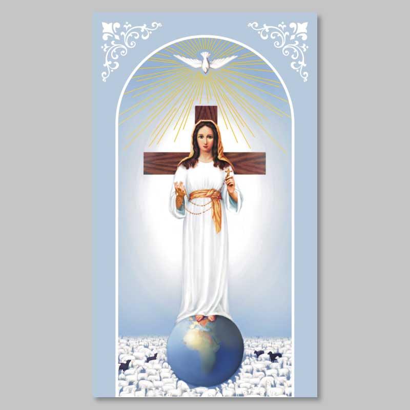 image la dame et le rosaire