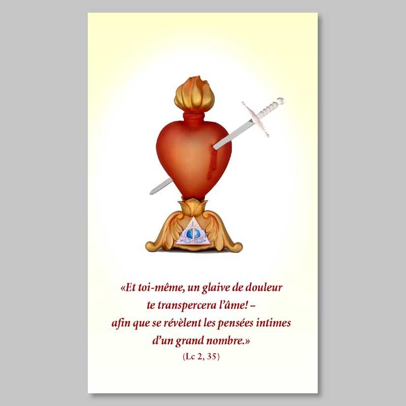 image - coeur transpercé du glaive