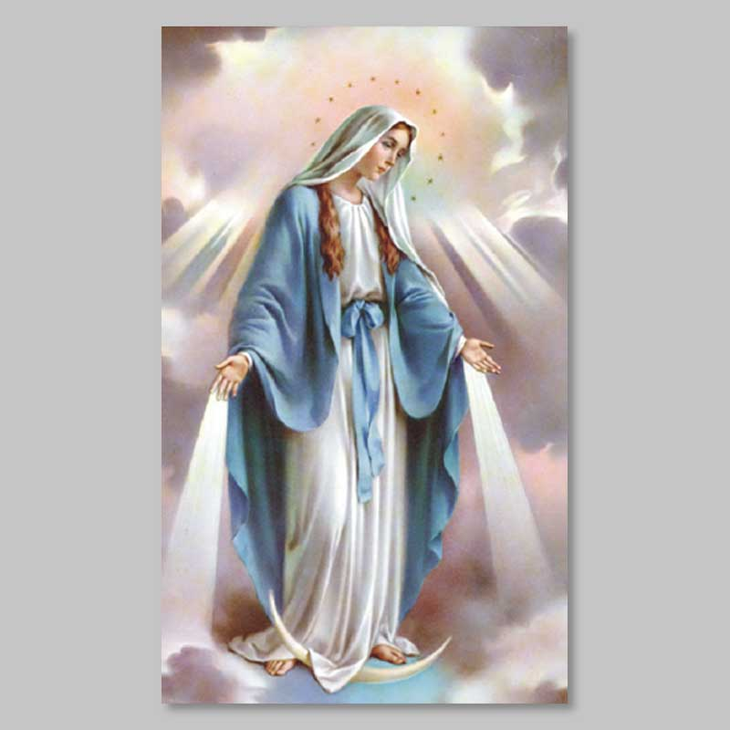 holy picture - virgin of apocalypse