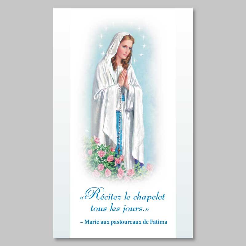 image - vierge du rosaire