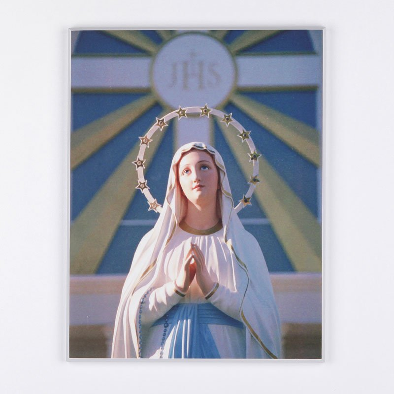 laminated plaque - Immaculate at Spiri-Maria