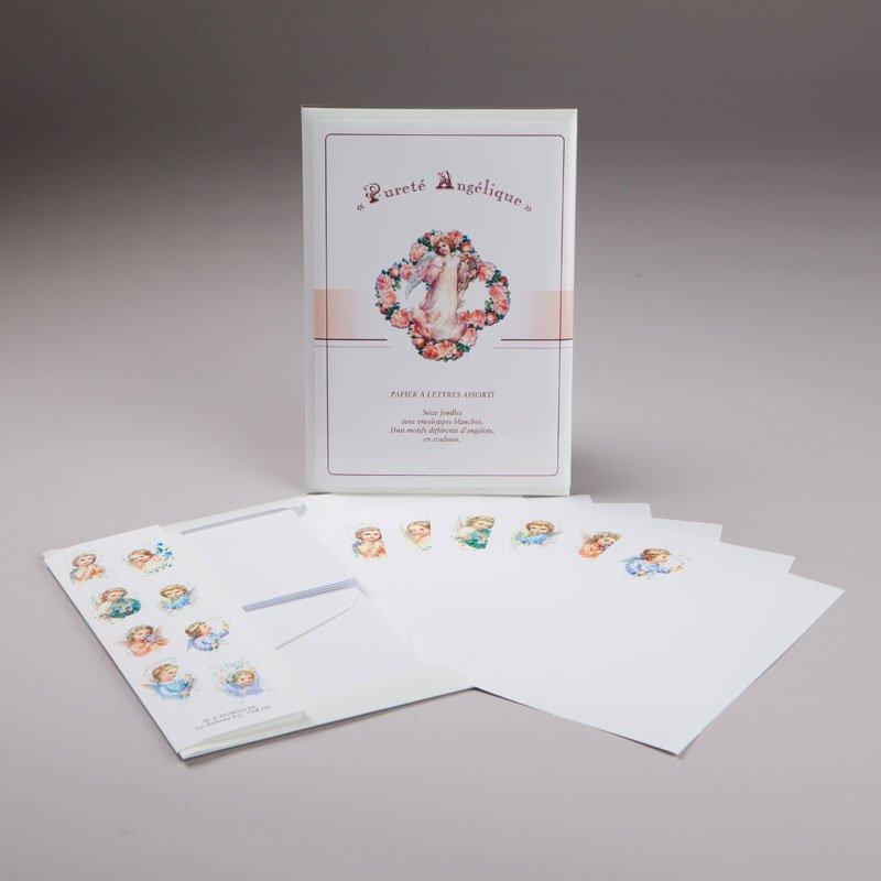 papier à lettres - pureté angélique