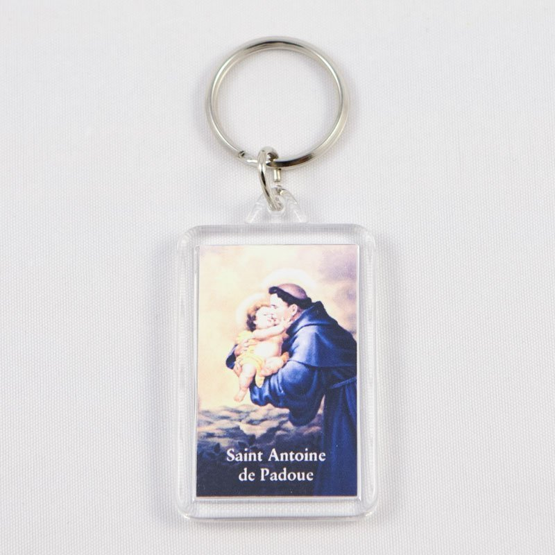 key chain - saint anthony of padua