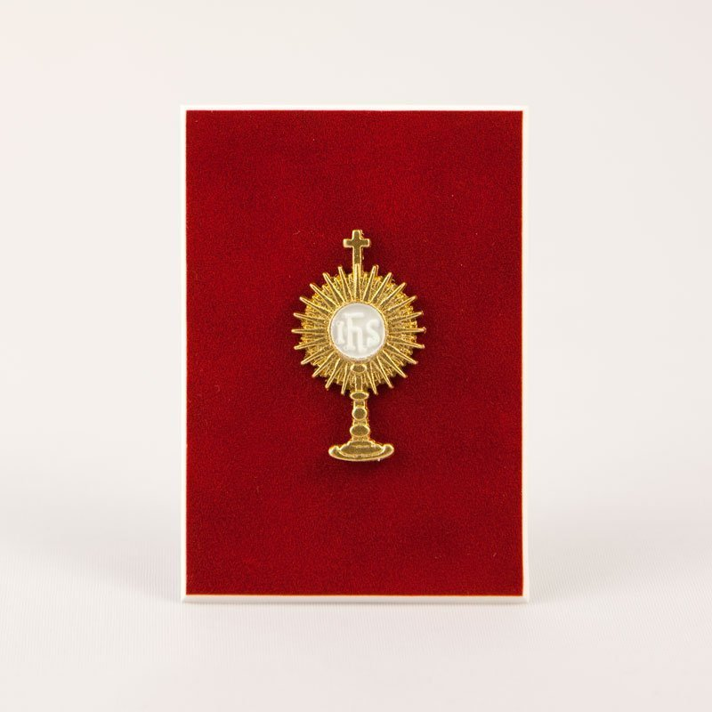 little golden monstrance