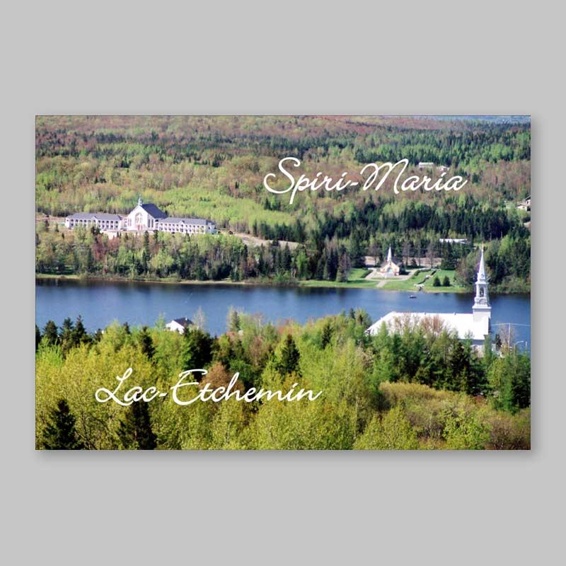 carte postale - les trois clochers