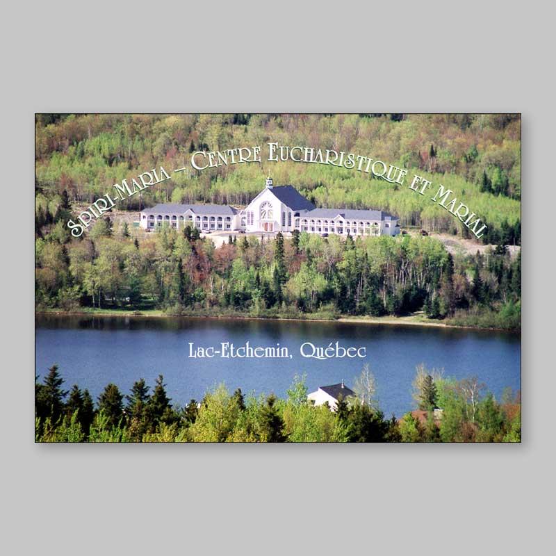 postcard - eucharistic and marian center