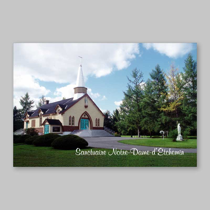 Postcard - Shrine of Our Lady of Etchemin