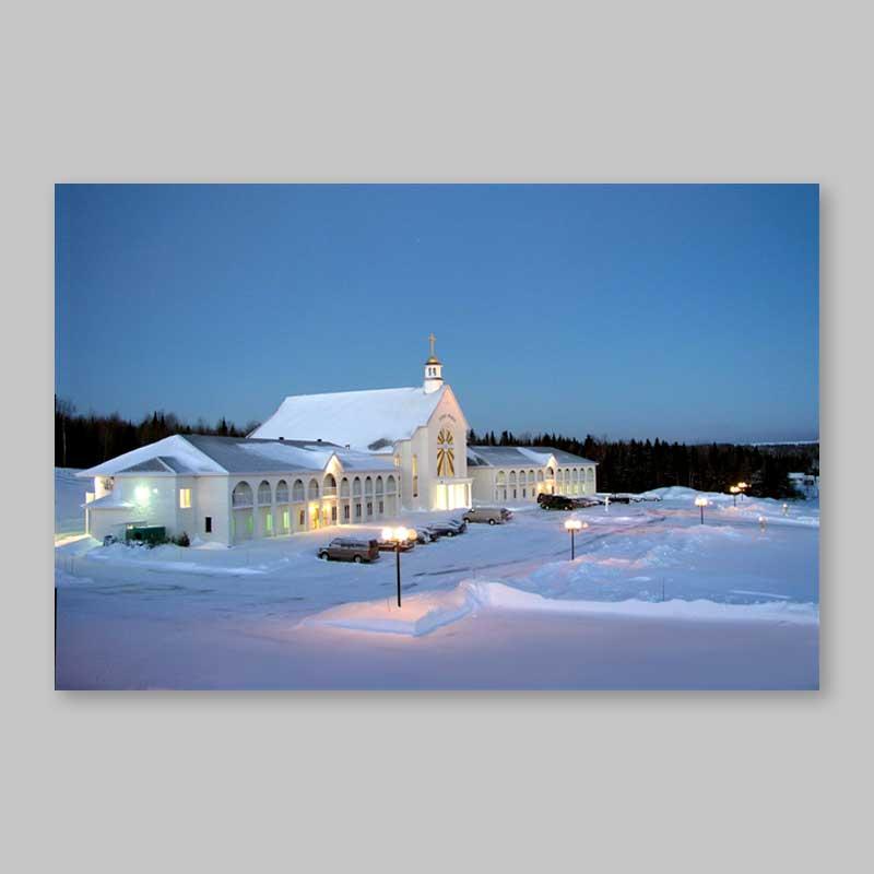 postcard - spiri-maria under a winter sunrise