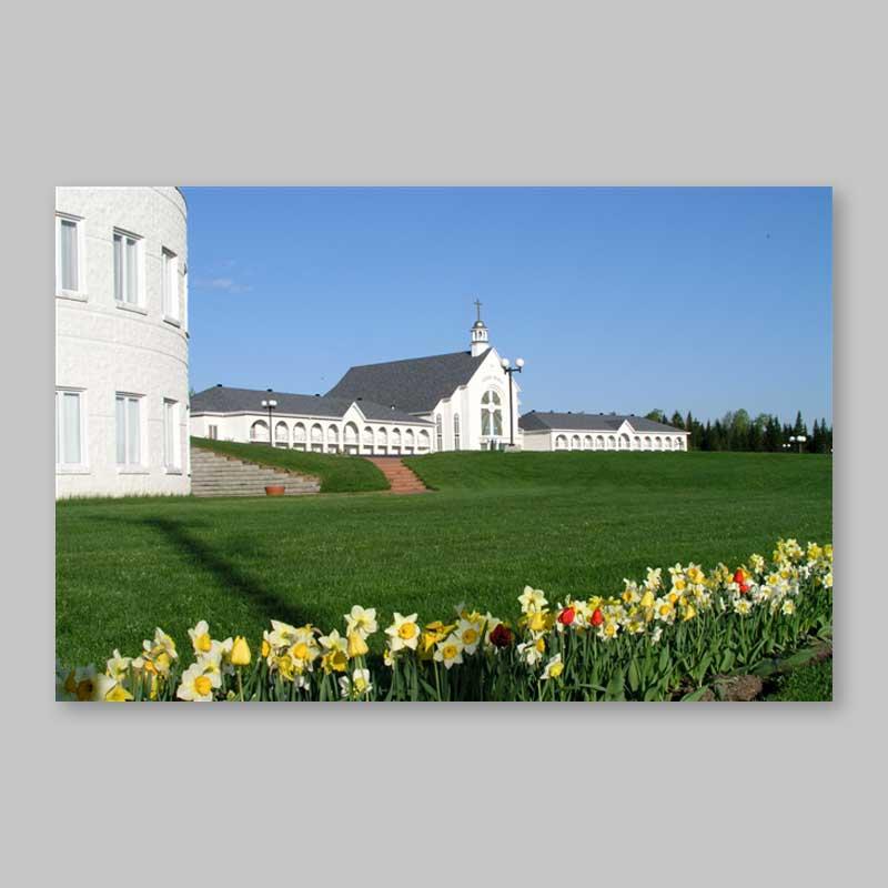 carte postale - le retour du printemps à spiri-maria