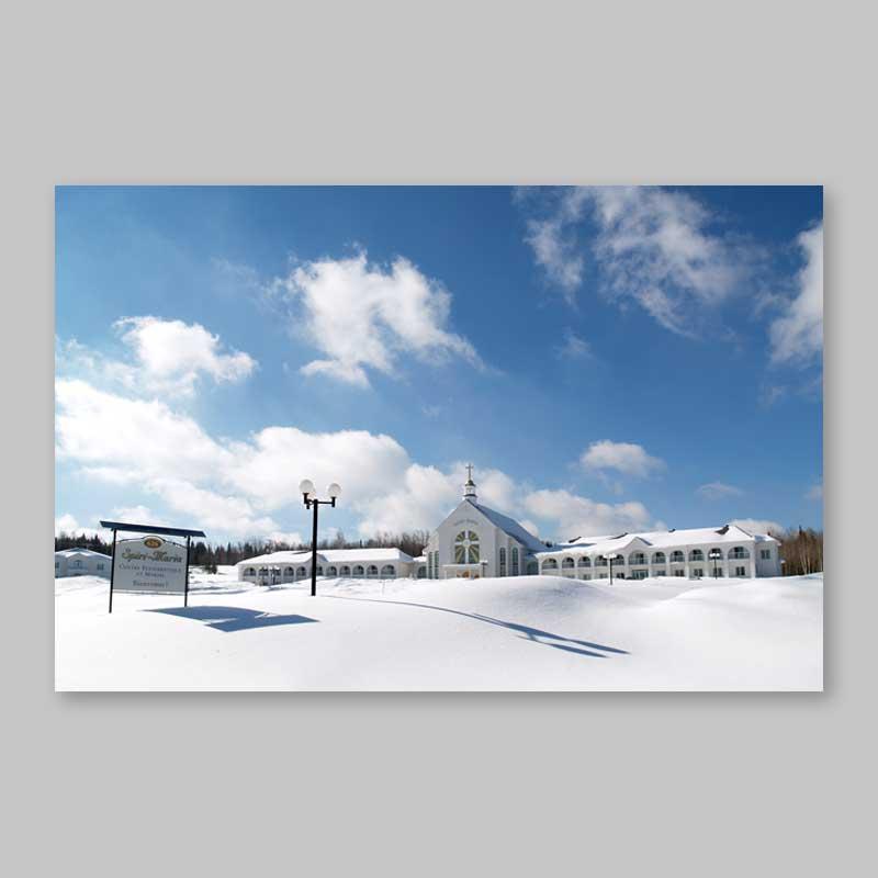 postcard - winter at spiri-maria