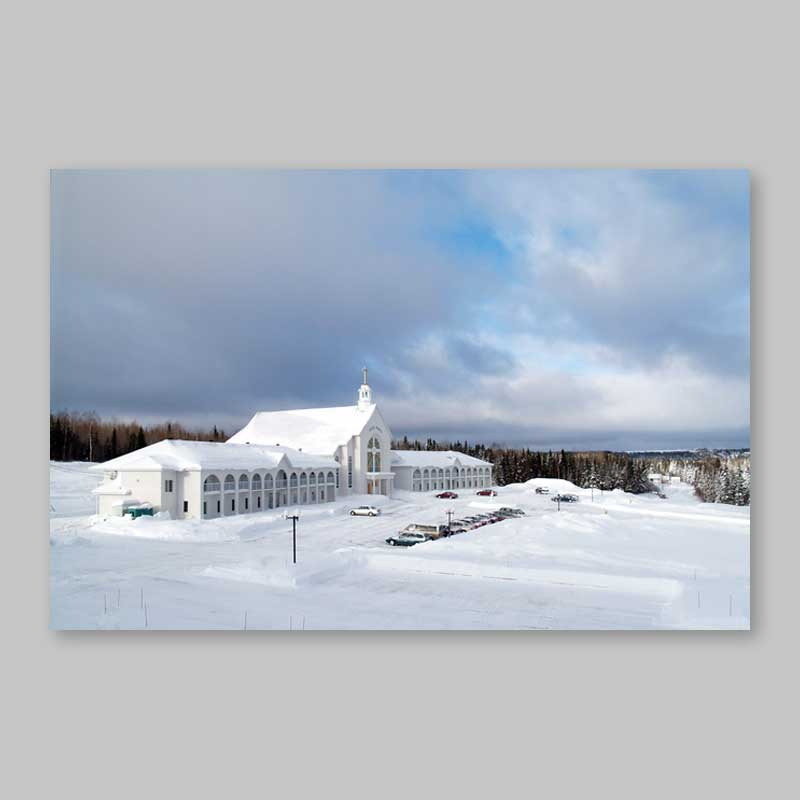postcard - winter scenery