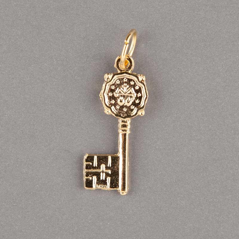 médaille miraculeuse - clef - doré - revers
