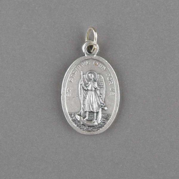 médaille saint christophe - revers