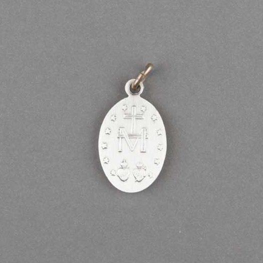 médaille miraculeuse - argentan - 19mm - revers
