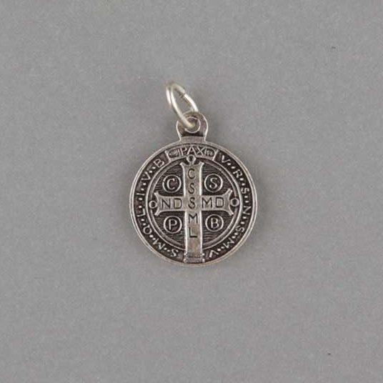 médaille saint benoît - 16 mm - revers