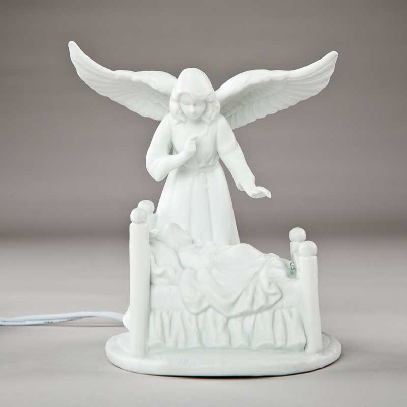 electric night light - guardian angel - 5¾ in.