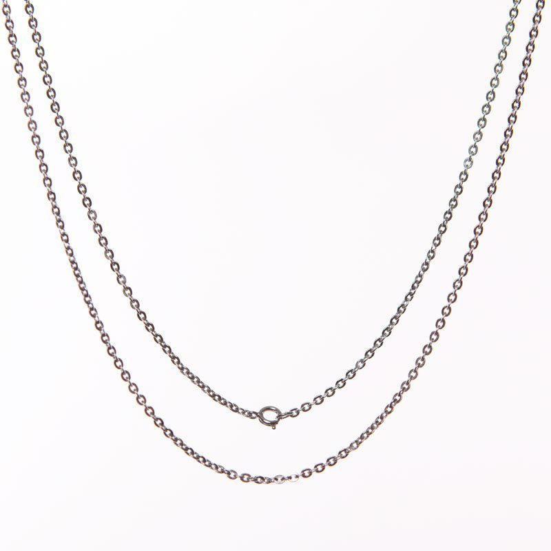 silver-coloured chain fl 50/60 24 inches