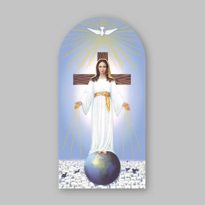 lady of all peoples holy picture
