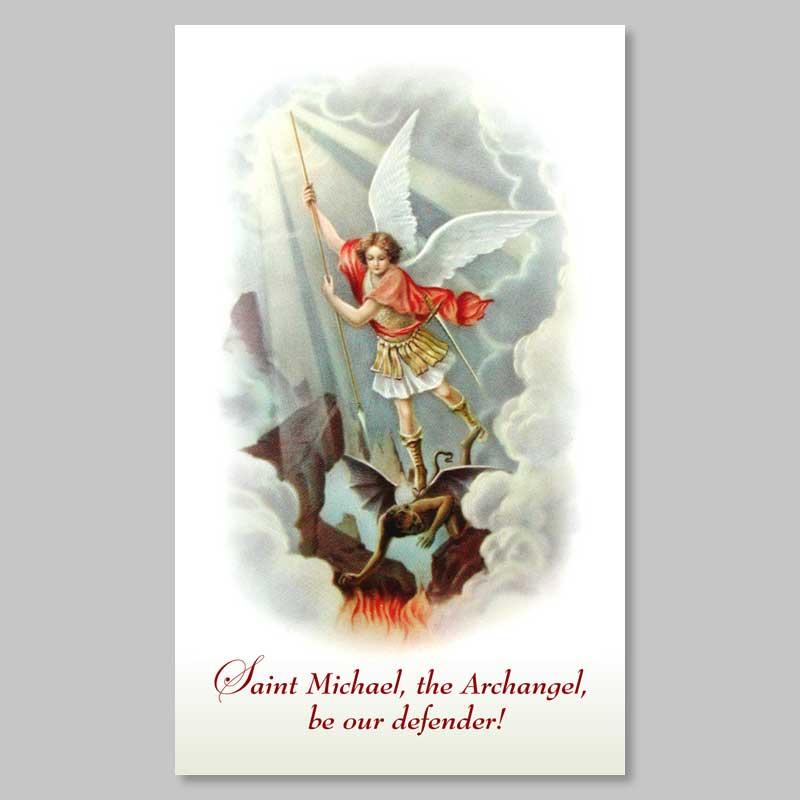 holy picture - saint michael the archangel