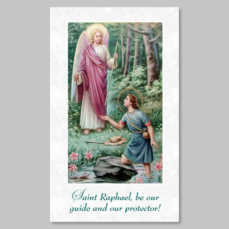 holy picture - saint raphael