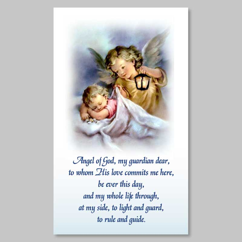 holy picture - guardian angel prayer