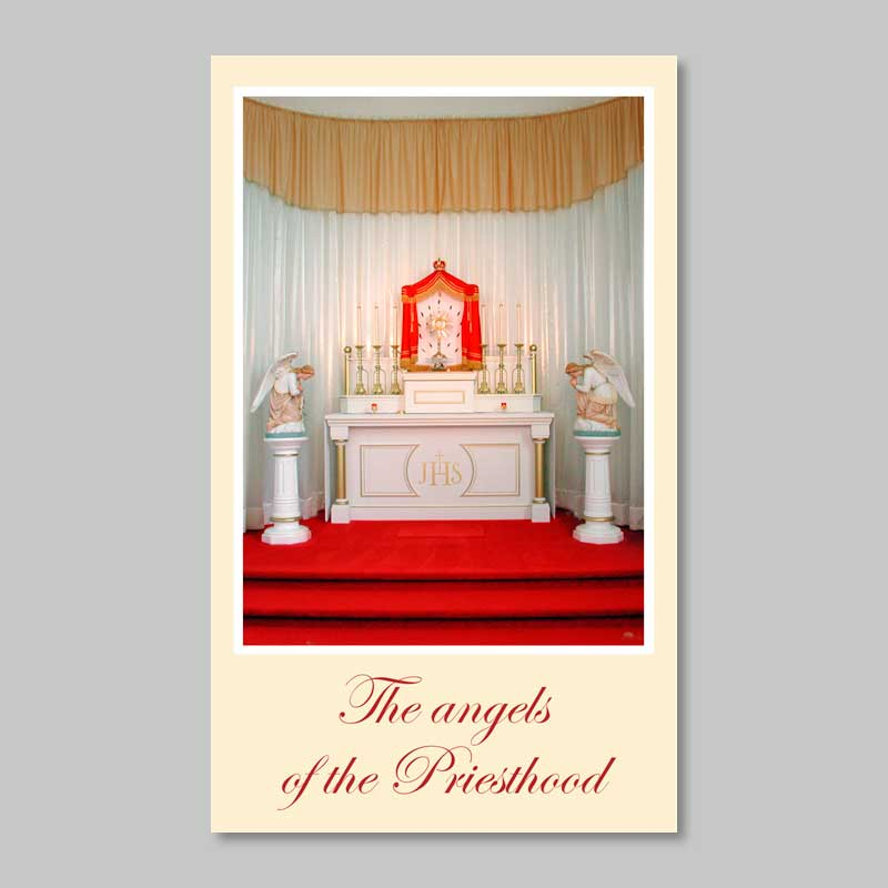 the angels of the priesthood - prayer for the priests