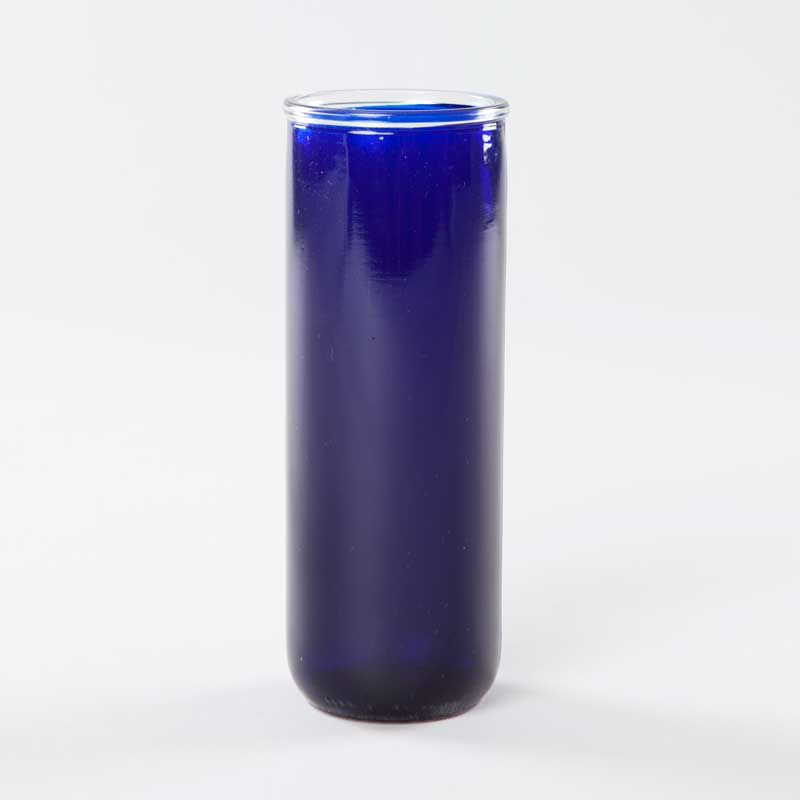 5-day royal blue votive light holder