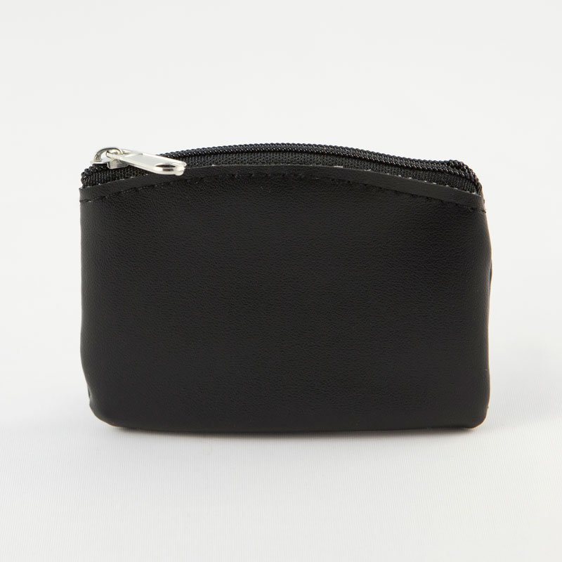rosary case-black imitation leather