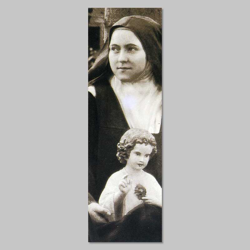 bookmark - thérèse and the child jesus