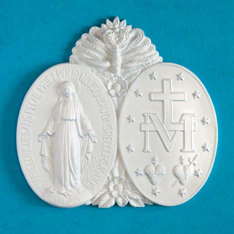 médaillon de la médaille miraculeuse