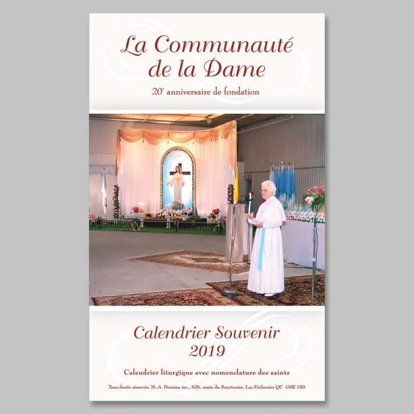 calendar 2019 - the community of the lady