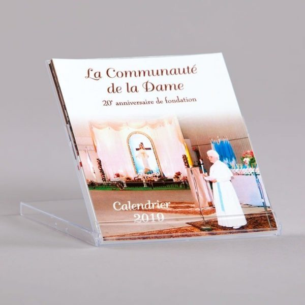 calendar 2019 - the community of the lady - CD size