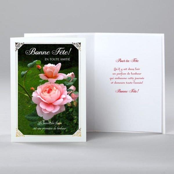 carte anniversaire - promesse de bonheur